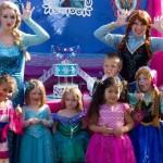 Frozen Princess Parties Portland